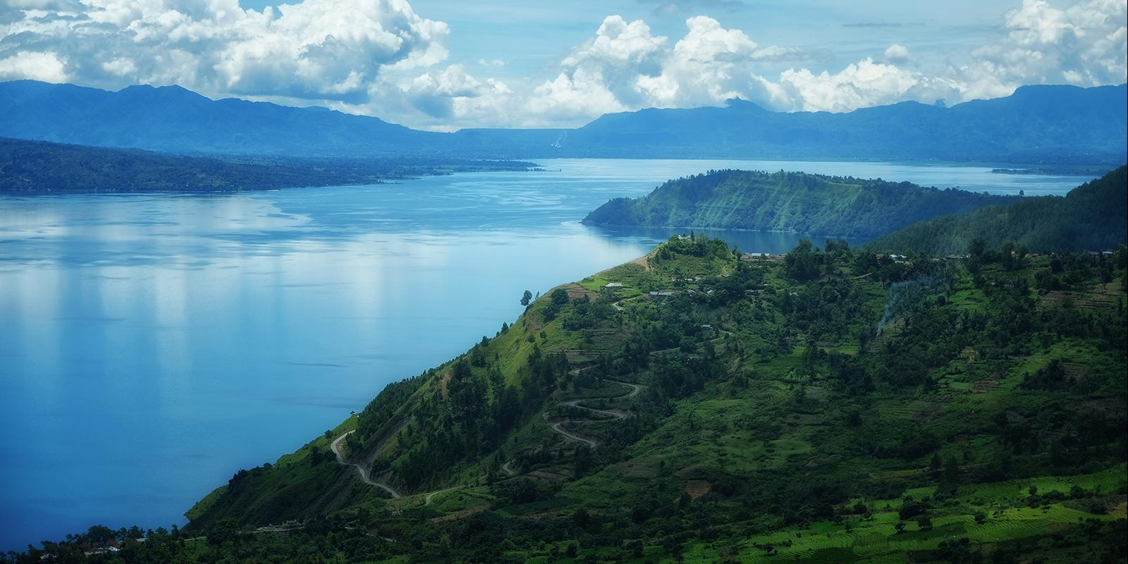 Endless Beauty of Toba Caldera